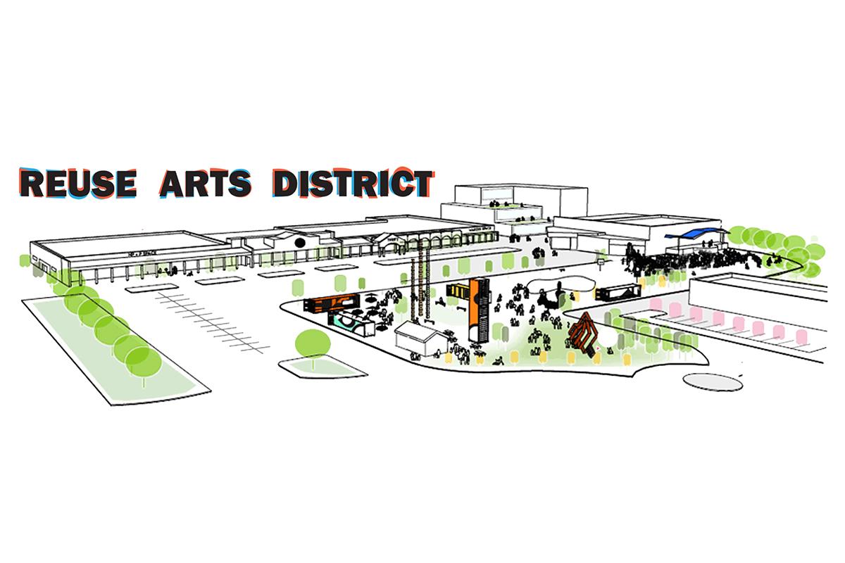 reuse arts district durham